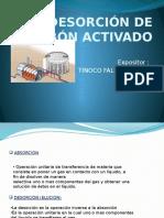 DESORCION DE CARBÓN ACTIVADO - tinoco.pptx