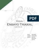 Manual Triaxial