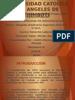 Universidad Catolica Los Angeles de Chimbote
