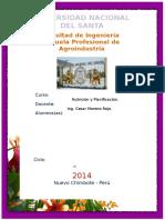 Informe Score Quimico