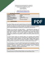 Microcurrículo Historia de Las Ideas Políticas 2013-1