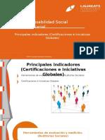 Responsabilidad Social Empresarial-Principales Indicadores (Certificaciones e Iniciativas Globales)