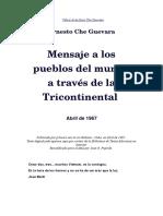 Mensaje de La Tricontinental-Che Guevara