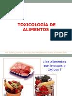 Toxinas en Los Alimentos