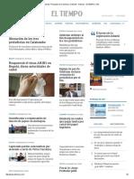 Noticias Principales de Colombia y El Mundo - Noticias - ELTIEMPO 20160526