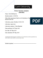 Power System Analysis Lab 5