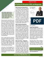 The Life Saving Value of Pyridoxal-5-Phosphate (P5P) and Magnesium