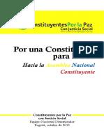 CONSTITUCION COMUNISTA SOCIALISTA DE FARC