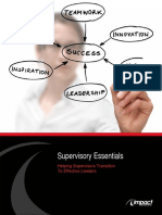Supervisory Essentials eBook January2011