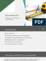 Definicion y Conceptos Normalización