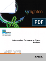 Submodeling Technique in Stress Analysis