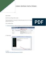Cara Menggunakan Aplikasi Kartu Pelajar Excel