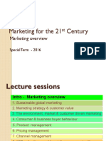 BU8501 Introduction Marketing Overview