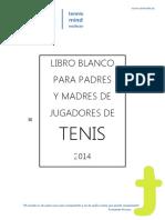 libro blanco para padres y madres de jugadores de tenis
