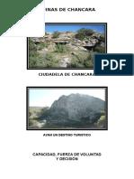 Diptico Ruinas de Chancara