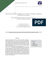 Desarrollo de Modelos Ecológicos Para Carbono y Nitrógenoen Lagunas Facultativas Secundarias