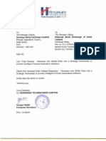Submission of News Paper Clip for Transfer of Share to IEPF