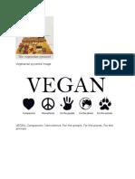 Vegan Vegetarian Image
