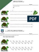Cuaderno de Aprestamiento Grafomotricidad Dificultad Media