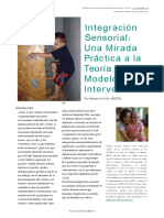 Una Mirada Practica a la integración sensorial