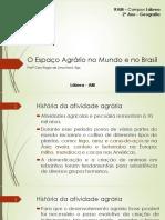 O Espaço Agrário No Mundo e No Brasil
