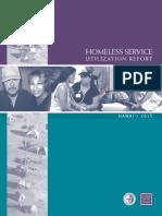 Homeless Service Utilization 2015