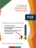 Sistema Lean de Producción