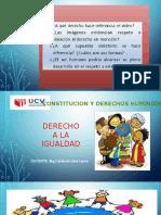 Diapositivas Del Derecho Ala Igualdad