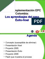 Plan de Implementacion NOEL 7EPC Colombia