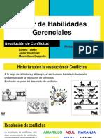 Resolución de Conflictos - Taller de Habilidades Gerenciales (1)
