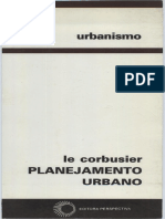 Corbusier, Le. Planejamento Urbano