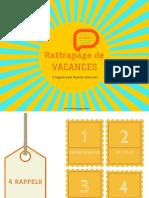 Rattrapage de Vacances Avec 4 Rappels Pour Bronzer Innovant_IDKIPARL