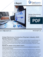 Global Electronics Conductive Polymers Industry