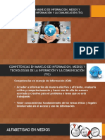 competencias en manejo de informacion medios y