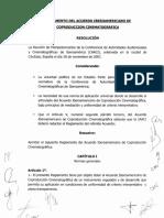 Reglamento Del Acuerdo Iberoamericano De Coproducción