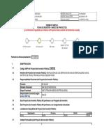 Ficha de Registro Banco de Proyectos Snip