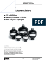 Diaphragm Accumulator