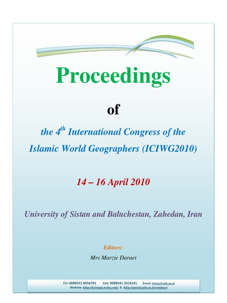 Proceeding of the English Full Papers - 4th International Congress ...