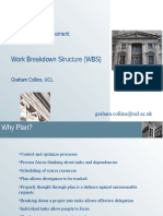 Z26 Project Management Work Breakdown Structure (WBS) Graham ...