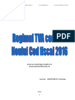 2016.04. Suport TVA Noul Cod Fiscal