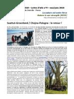 NIOS - Lettre d'info n°9 - La nature est notre force - (Erasmus+ 2015-2018)