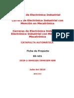 EE-101 Ficha de Proyecto - IDAT 3159 -Ejemplo 3158