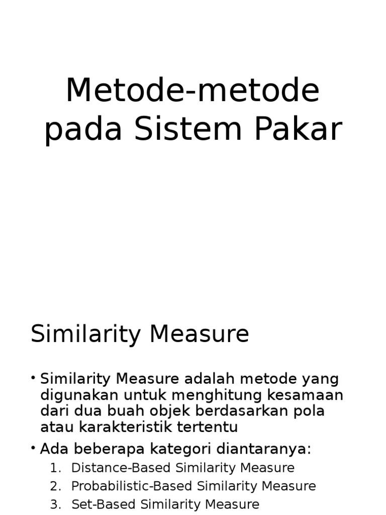 3. Metode-metode Pada Sistem Pakar db939a9c85