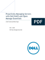 Managing Dell Servers With the Dell KACE K1000 and Dell Open Manage