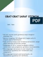 Obat-obat Saraf Otonom