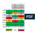 Schedule Primary Sports Day Years 4-6 (2016)