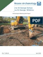 Ogbourne St George School, Ogbourne St George, Wiltshire