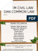 Bab 6 Sistem Civil Law Dan Common Law