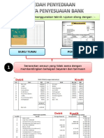 Penyata Penyesuaian Bank (Pengiraan)