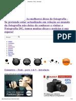 Fotometria + Flash - Introdução